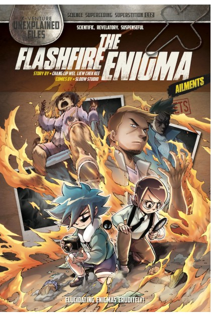 X-VENTURE Unexplained Files 12: The Flashfire Enigma