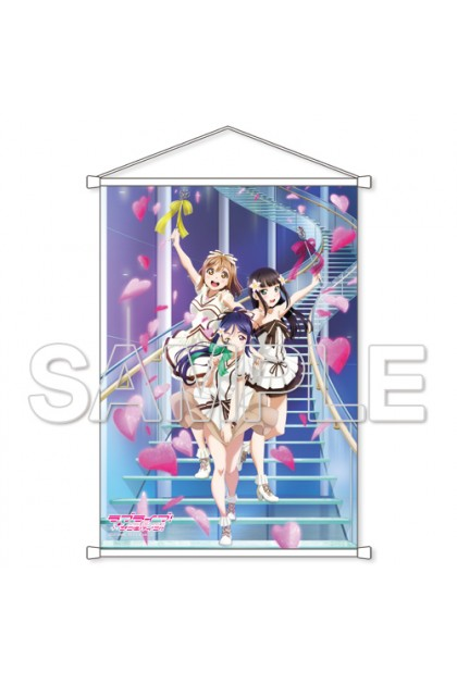 """Lovelive! Sunshine !! """"CYaRon! Energetic fully open B2 tapestry"""