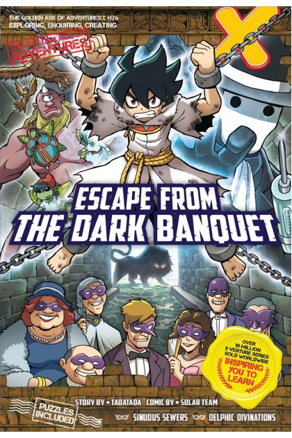 X-VENTURE The Golden Age of Adventures 26: Escape From The Dark Banquet