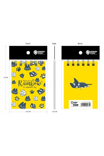 Inky The Cat Notepad