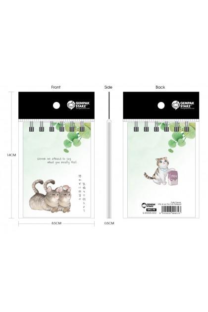 Fluffy Friends: Kitty & Leo The Cats Notepad