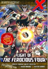 [Pre-Order with 2 Sides Board Game] X-VENTURE The Golden Age of Adventures 27: Flight of the Ferocious Four