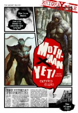 Enigma-X File 01: Mothman X Yeti Cryptid Clues