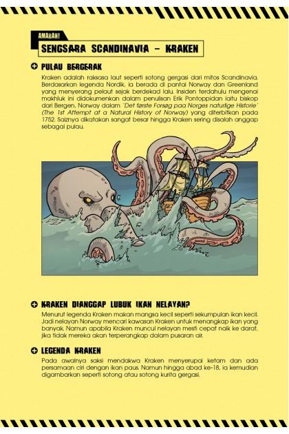 Siri X-VENTURE Aksi Unggul 03: Gelodak Bawah Air Kraken VS Naga Laut
