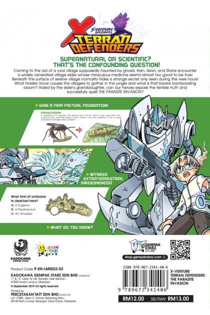 X-VENTURE Terran Defenders 03: The Parasite Invasion