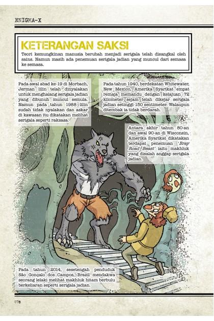 Fail Enigma-X 10: Serigala Jadian x Puntianak Raksasa Misteri