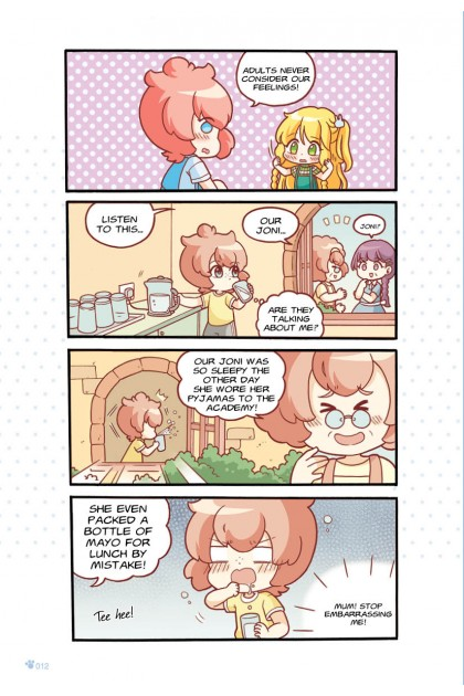 Candy Cuties 09: Jazzy Jelly: Topic: Privacy
