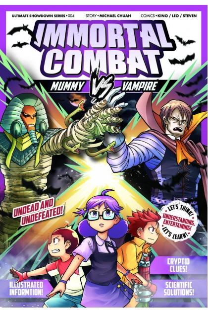 X-VENTURE Ultimate Showdown 04: Immortal Combat Mummy VS Vampire
