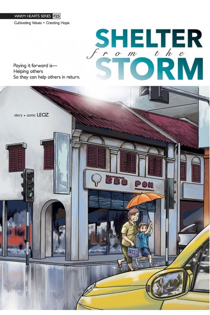 Warm Hearts Series 23: Shelter From The Storm