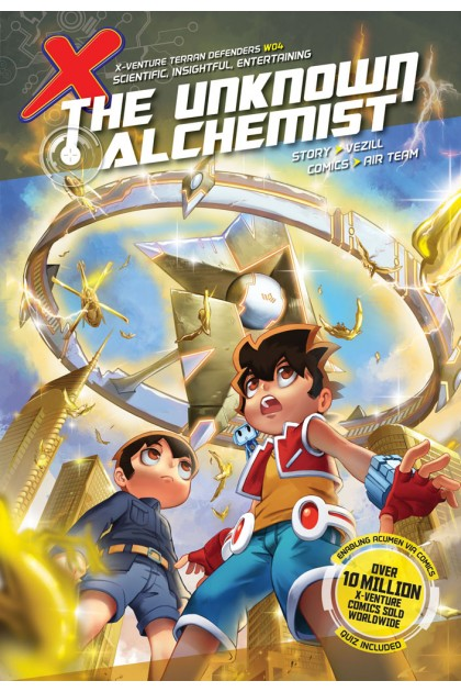 X-VENTURE Terran Defenders 04: The Unknown Alchemist