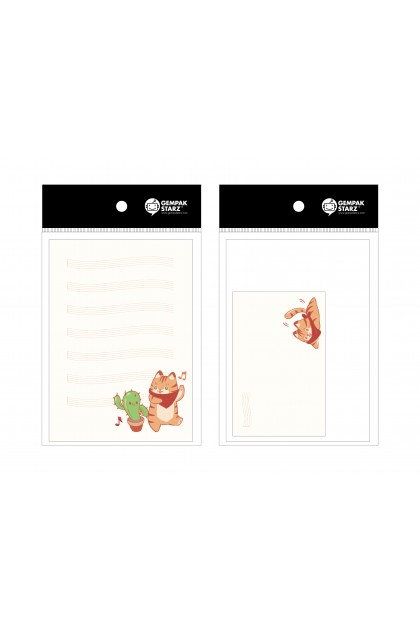 Bean Bean Mini Letterhead Set