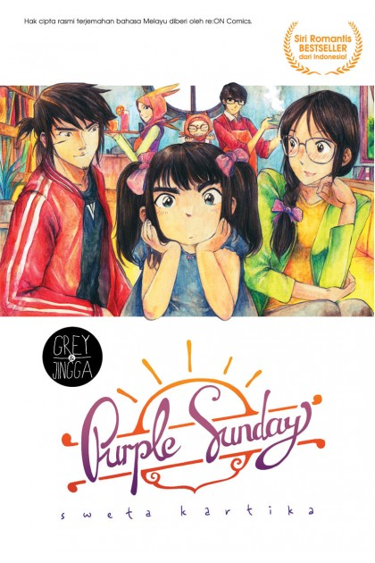 Grey & Jingga: Purple Sunday