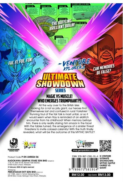 X-VENTURE Ultimate Showdown 06: Mythic Battle: Fairies VS Giant