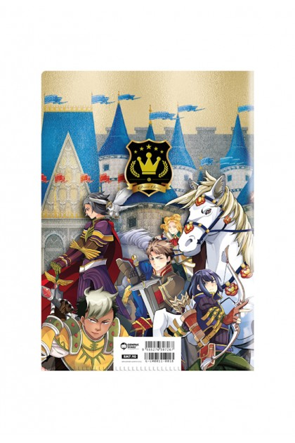 Prince Series - Princes In Armour PVC Folder (Metalised)