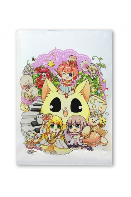 Candy Series Cuties PVC Folder  (A4 Metalised)