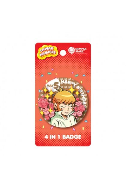 Lawak Kampus Birthday Badge - 12 designs