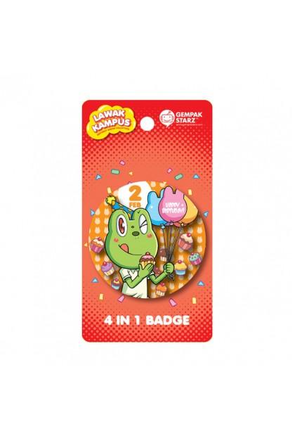 Lawak Kampus Birthday Badge - FEB