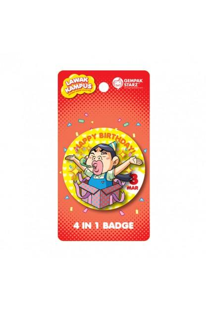Lawak Kampus Birthday Badge - MAC