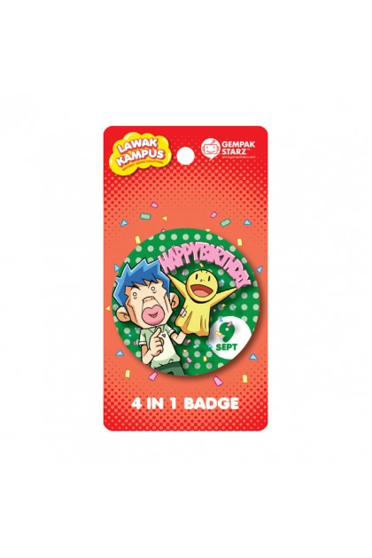 Lawak Kampus Birthday Badge - SEPT