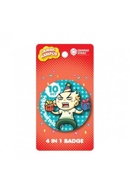 Lawak Kampus Birthday Badge - OCT