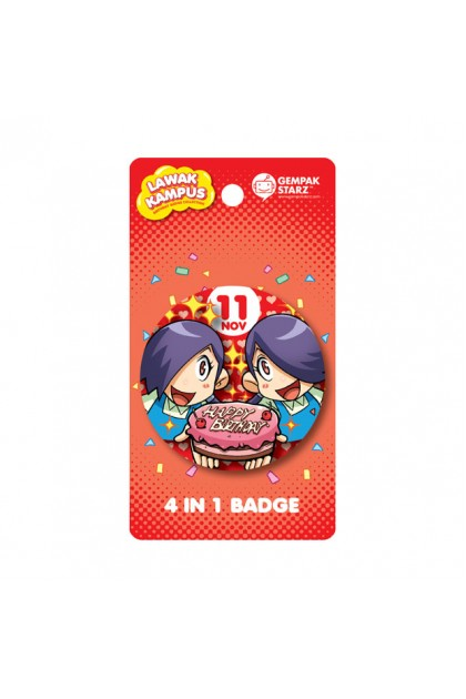 Lawak Kampus Birthday Badge - NOV
