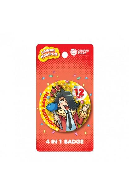 Lawak Kampus Birthday Badge - DEC
