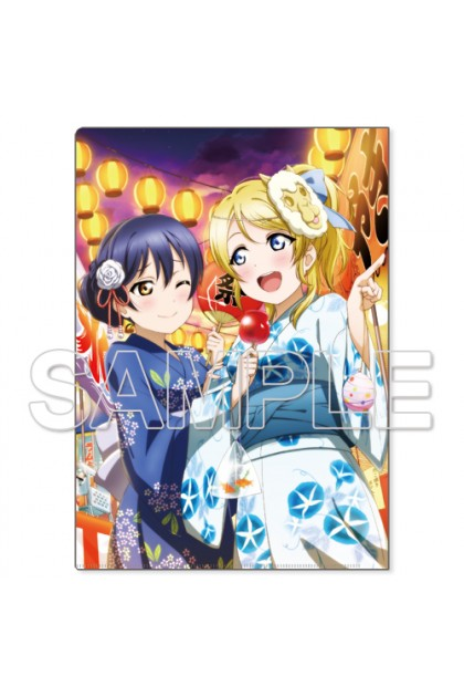 Love Live! Clear File Holder μ's Eli & Umi