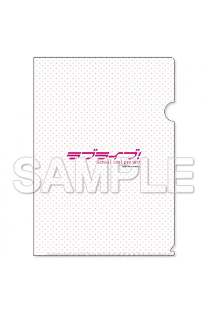 Love Live! Clear File Holder μ's Kotori & Nico