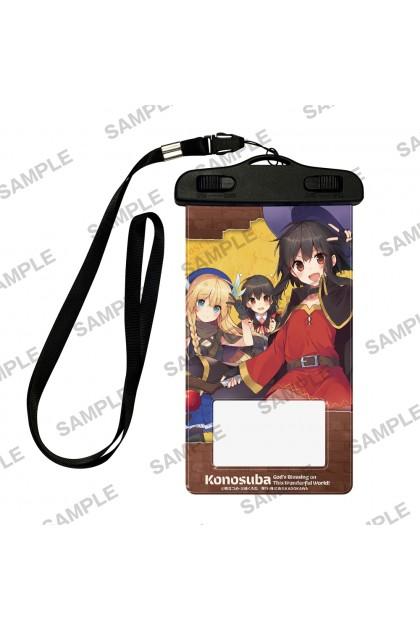 Konosuba God's Blessings On This Wonderful World! Bakuen Fair Waterproof Smartphone Case