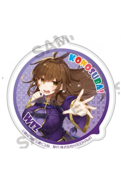 Konosuba God's Blessing On This Wonderful World! Bakuen Fair Trading Acrylic Keychain (Blind Pack)