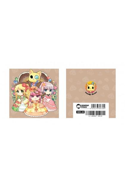 Candy Series Cuties Diamond Memopad