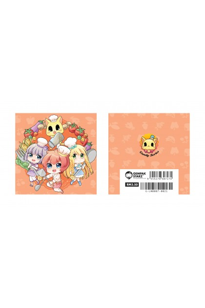 Candy Series Cuties Diet Memopad