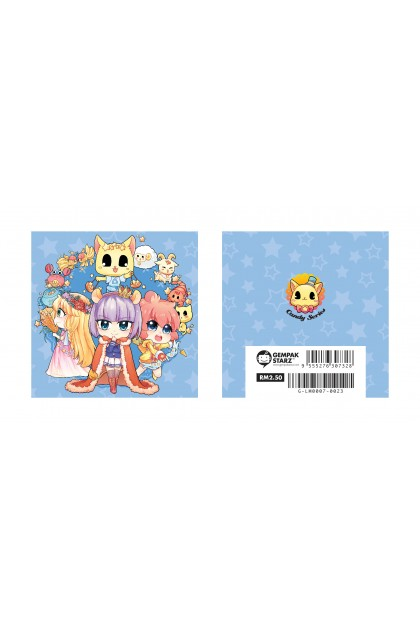 Candy Series Cuties Stars Memopad