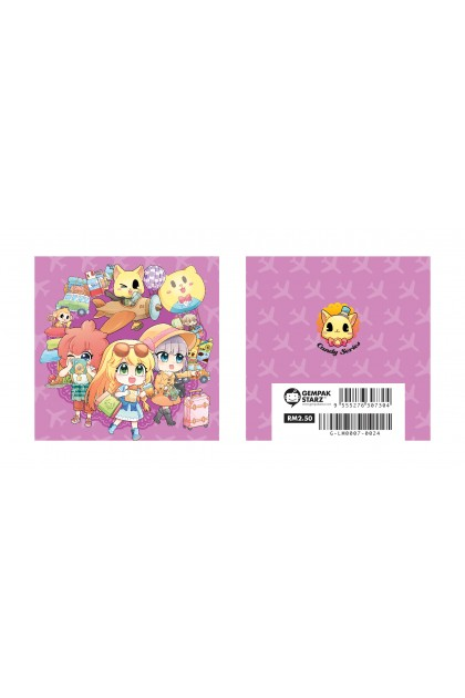 Candy Series Cuties Pink Memopad