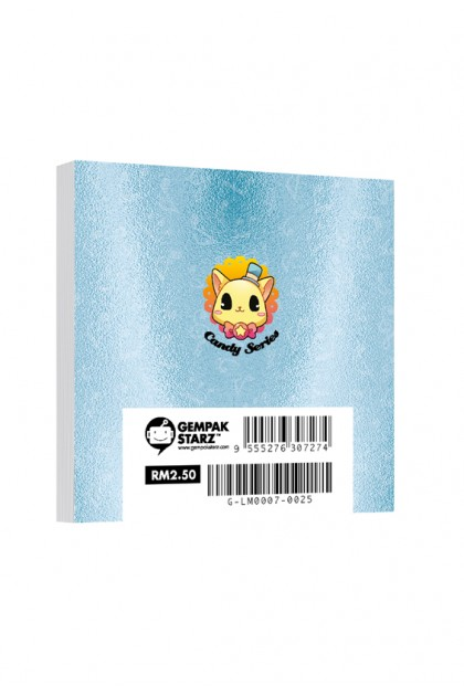Candy Series Cuties Music Memopad