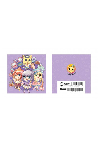 Candy Series Cuties Flower Memopad