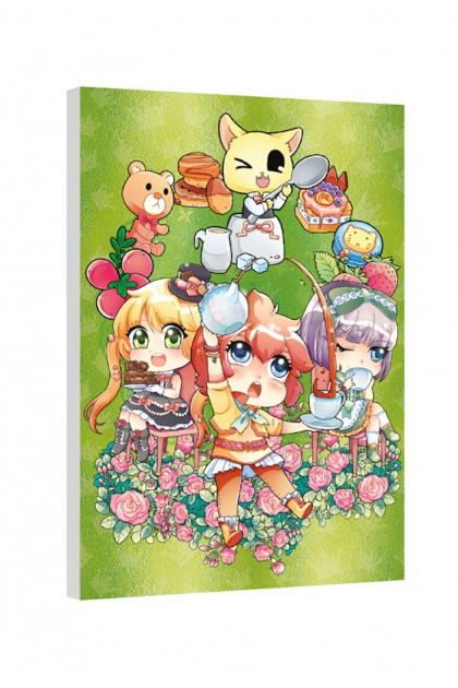 Candy Series Cuties Memopad (A6 Metalised) - 5 Designs