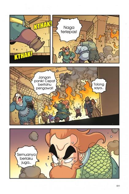 Siri X-VENTURE Kronikal Naga 10: Pengutus Naga Merah • Firedrake