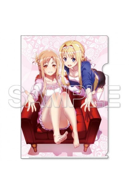 Sword Art Online Alicization Clear File Holder [6] - Alice & Asuna