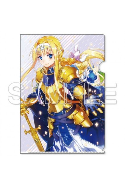 Sword Art Online Alicization Clear File Holder [7] - Alice