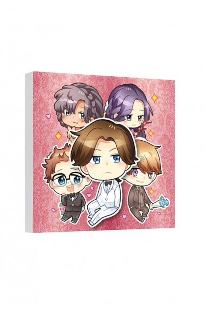 Prince Series - Princes Memopad (Metalised) - 10 Designs
