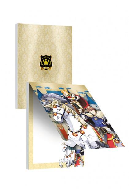 Prince Series - Princes Albert & Ciel Notepad (Metalised)