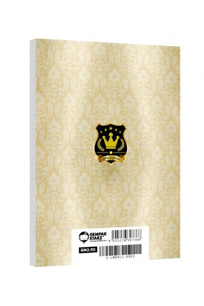 Prince Series - Princes Leon & Jayvyn Notepad (Metalised)