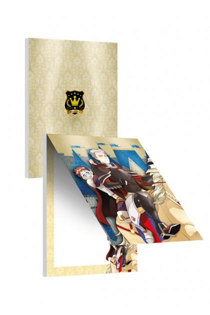 Prince Series - Princes Vladimir & Alex Notepad (Metalised)