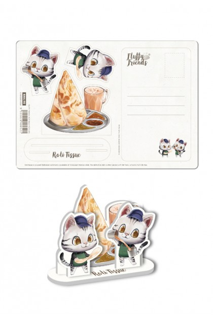 Fluffy Friends Postcard Collection (6 Designs)