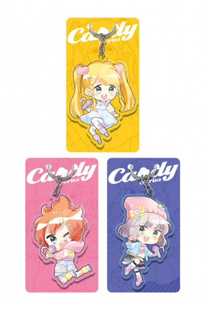 Candy Series Acrylic Keychain (3 Designs)