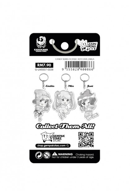 Candy Series Acrylic Keychain (3 Designs)