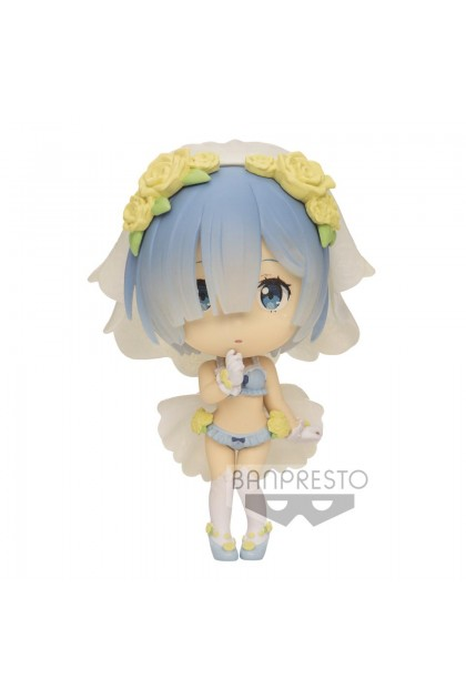 Chibikyun Character Figure [RE:Zero - Starting Life in Another World] Vol. 1 (B:REM)