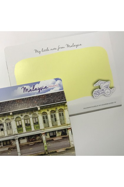 MUOC - Pop-up card Penang Heritage House