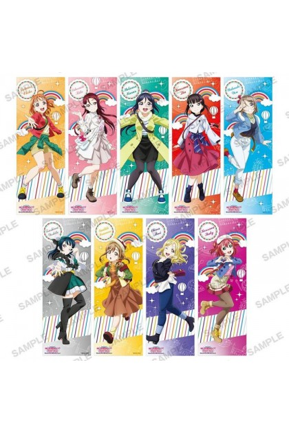 Love Live! Sunshine!! The School Idol Movie Over The Rainbow Sticker Collection (Single Pack)